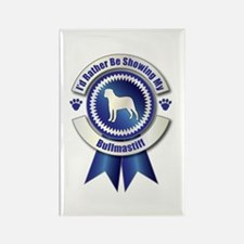Showing Bullmastiff Rectangle Magnet (100 pack)