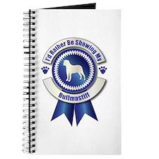 Showing Bullmastiff Journal