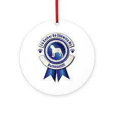 Showing Bullmastiff Ornament (Round)