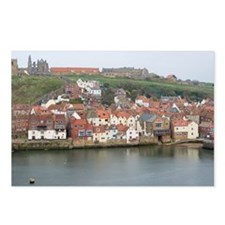 Whitby Lower Harbour Postcards (Package of 8)