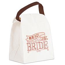 Bride 2015 October Canvas Lunch Bag