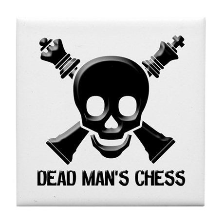 Dead Man's Chess Tile Coaster