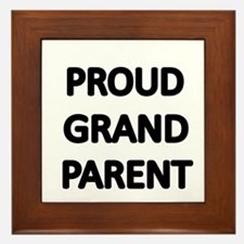 PROUD GRANDPARENT Framed Tile