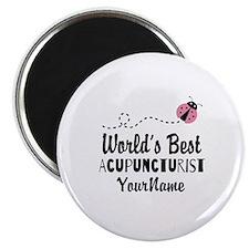 World's Best Acupuncturist Magnet
