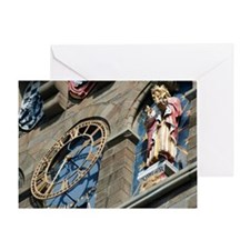 Clock Tower in Cardiff Castle Greeting Card