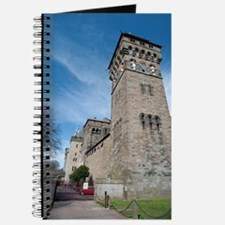 Clock tower at Cardiff Castle Journal