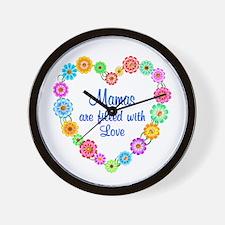 Mama Love Wall Clock