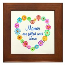 Mama Love Framed Tile