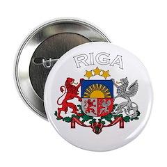 Riga, Latvia Coat of Arms (Da Button