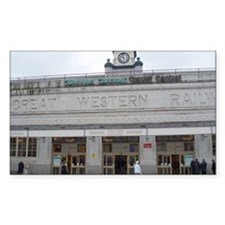 cardiff central station Decal