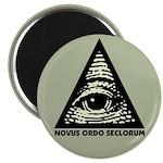 Pyramid Eye Magnet (10 pack)