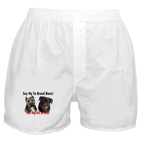 Say No To Breed Bans! Boxer Shorts