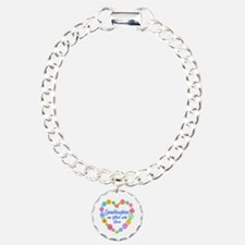 Granddaughter Love Charm Bracelet, One Charm