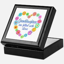 Granddaughter Love Keepsake Box
