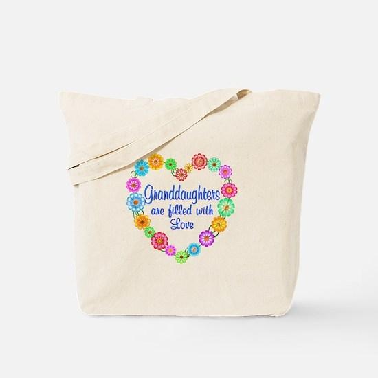 Granddaughter Love Tote Bag