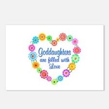 Goddaughter Love Postcards (Package of 8)