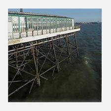 Blackpool North Pier Tile Coaster