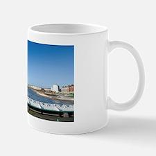 Blackpool north shore from North Pier Mug