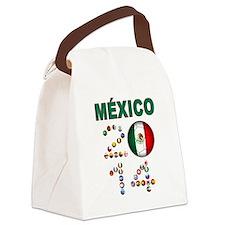 México futbol soccer Canvas Lunch Bag