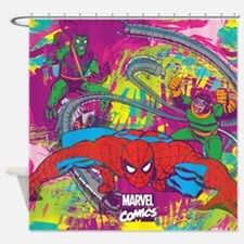 Spiderman Jungle Shower Curtain