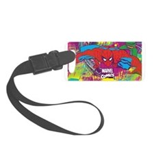 Spiderman Jungle Luggage Tag