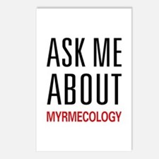 Ask Me About Myrmecology Postcards (Package of 8)