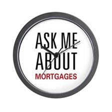 Ask Me Mortgages Wall Clock