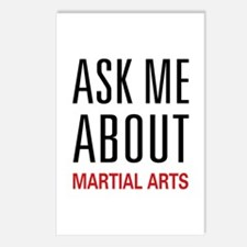 Ask Me About Martial Arts Postcards (Package of 8)