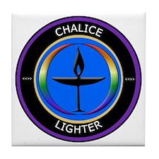 Chalice Lighter logo Tile Coaster