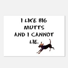I like big mutts Postcards (Package of 8)
