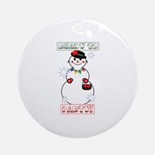 Ready To Party! Ornament (Round)