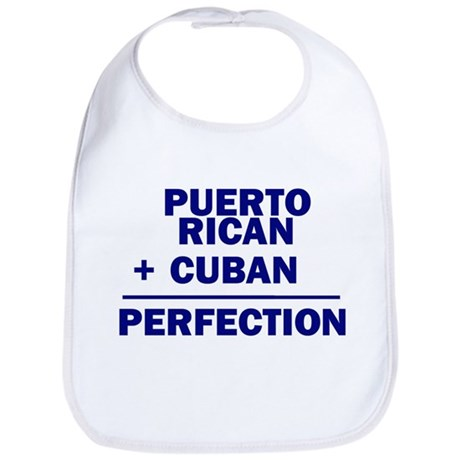 Cuban + Puerto Rican Bib