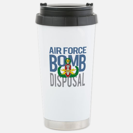 Air Force Master EOD Stainless Steel Travel Mug
