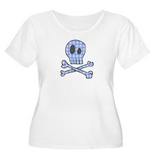 Blue Gingham Pirate T-Shirt