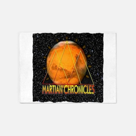 Martian Chronicles 5'x7'Area Rug