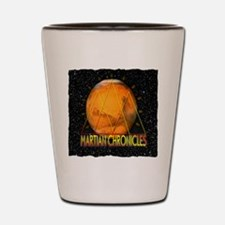 Martian Chronicles Shot Glass