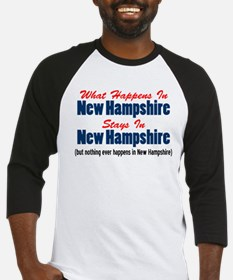 What Happens In New Hampshire Baseball Jersey