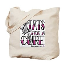 Tats for a CureT Tattoo Gun Tote Bag