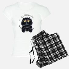Black Persian IAAM Pajamas