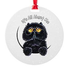 Black Persian IAAM Ornament
