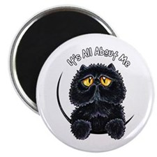 "Black Persian IAAM 2.25"" Magnet (10 pack)"