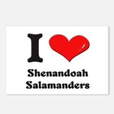 I love shenandoah salamanders  Postcards (Package
