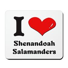 I love shenandoah salamanders  Mousepad