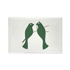 Turtle Doves Magnets