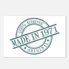 Made in 1971 Postcards (Package of 8)