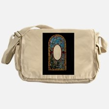 Castle Window Messenger Bag