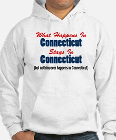 What Happens In Connecticut Hoodie