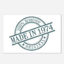 Made in 1974 Postcards (Package of 8)