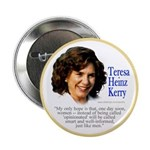 Teresa Heinz Kerry Opinionated Quote Button