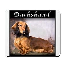Dachshund Longhaired Mousepad